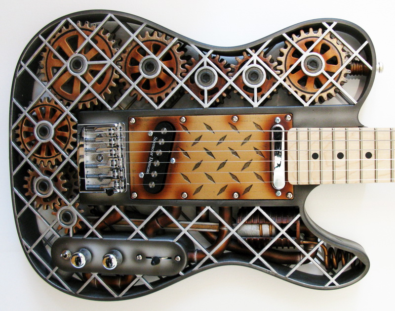 steampunk-Telecaster