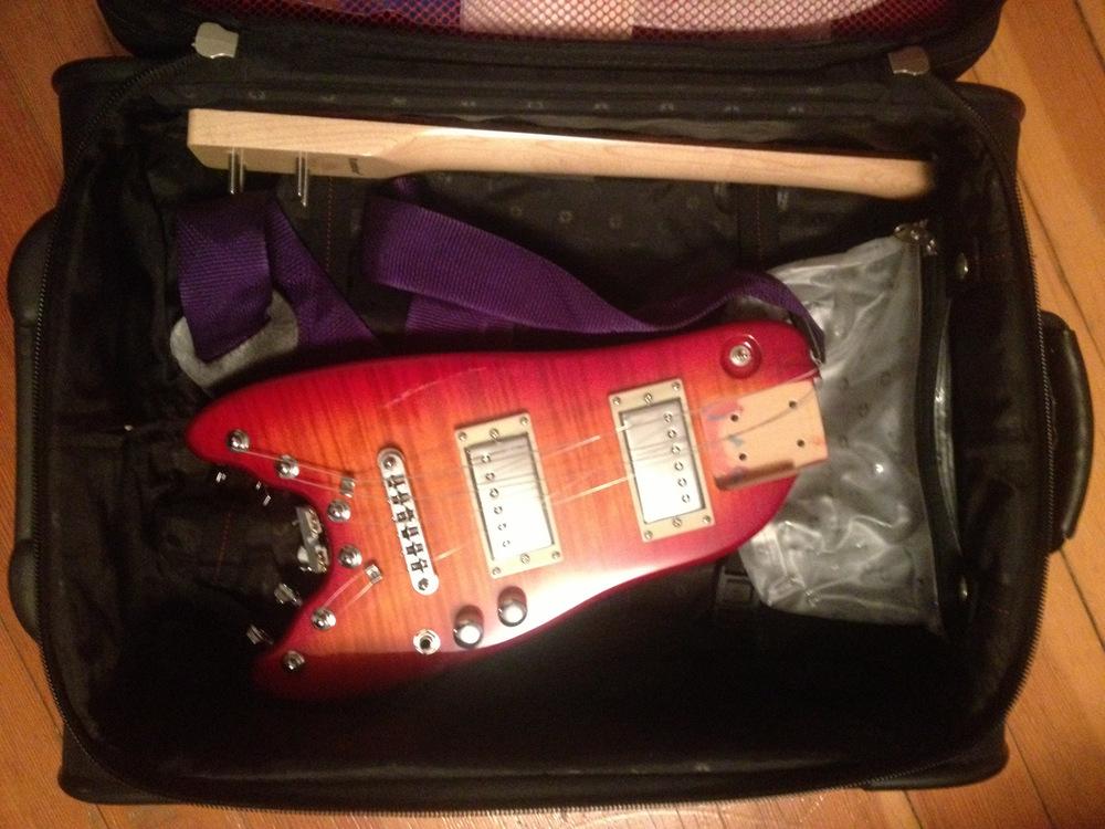Strobel-in-suitcase