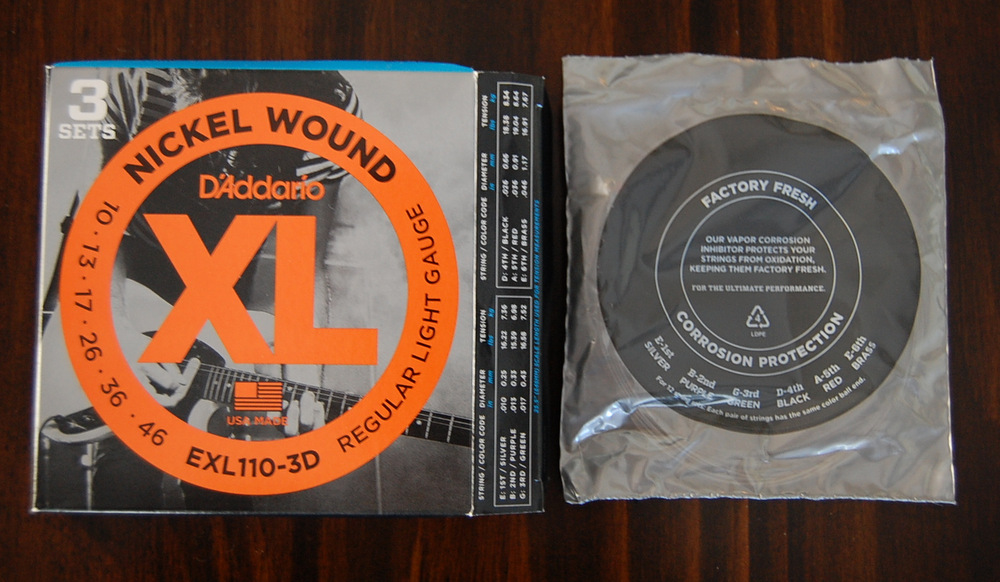 This entry was posted in Gear and tagged D'Addario by Rob . Bookmark ...
