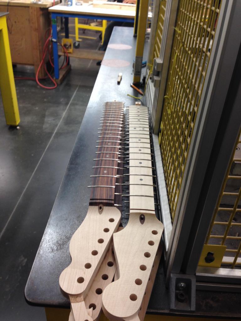 Fender Factory Tour In Corona  California